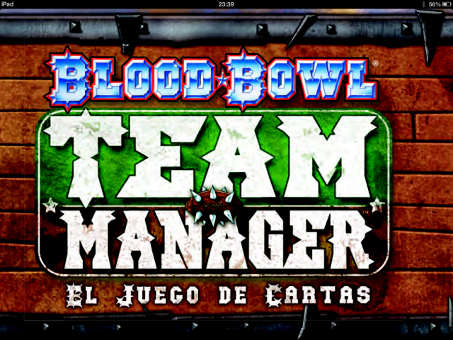 Blood Bowl Team Manager Logo
