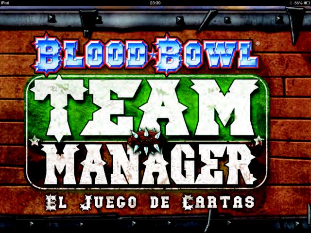 Blood Bowl Team Manager Logo