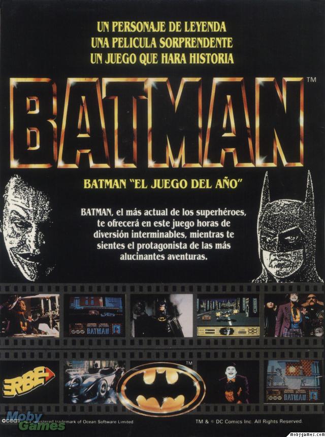 Batman publicidad