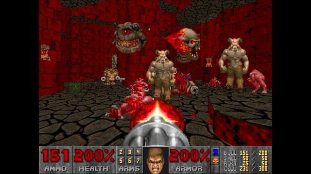 Doom pantalla