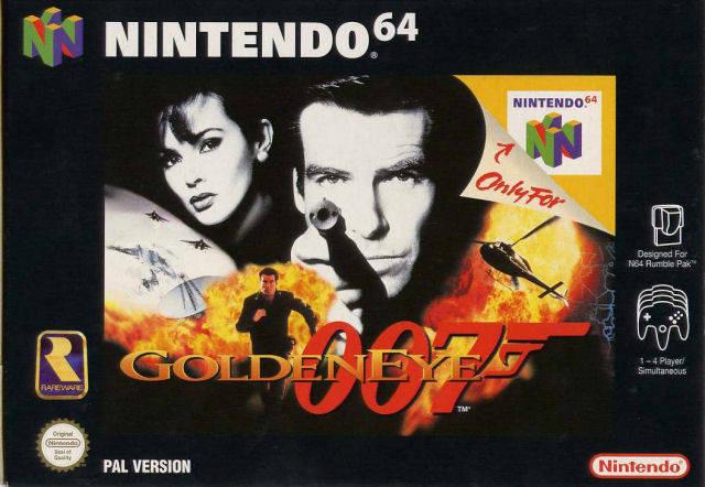 Goldeneye portada
