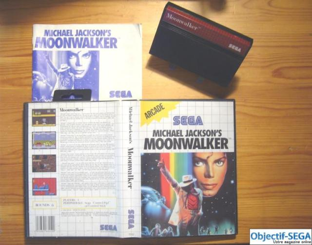Moonwalker cartucho