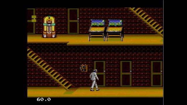 Moonwalker pantalla