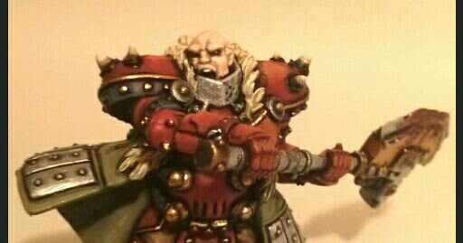 Los Grumpies pintamos: The BUTCHER of KHARDOV , Warcaster de Khador.
