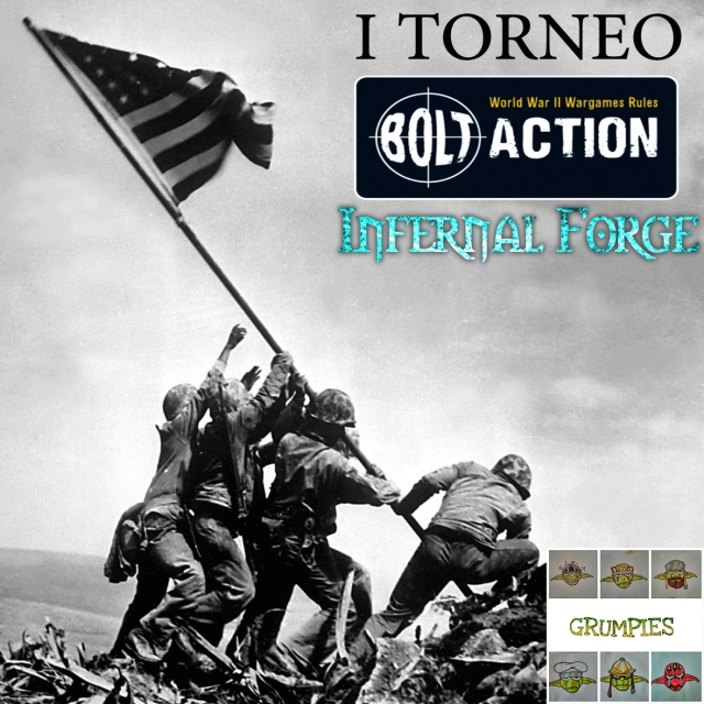 Torneo Bolt Action Infernal Forge – Crying Grumpies
