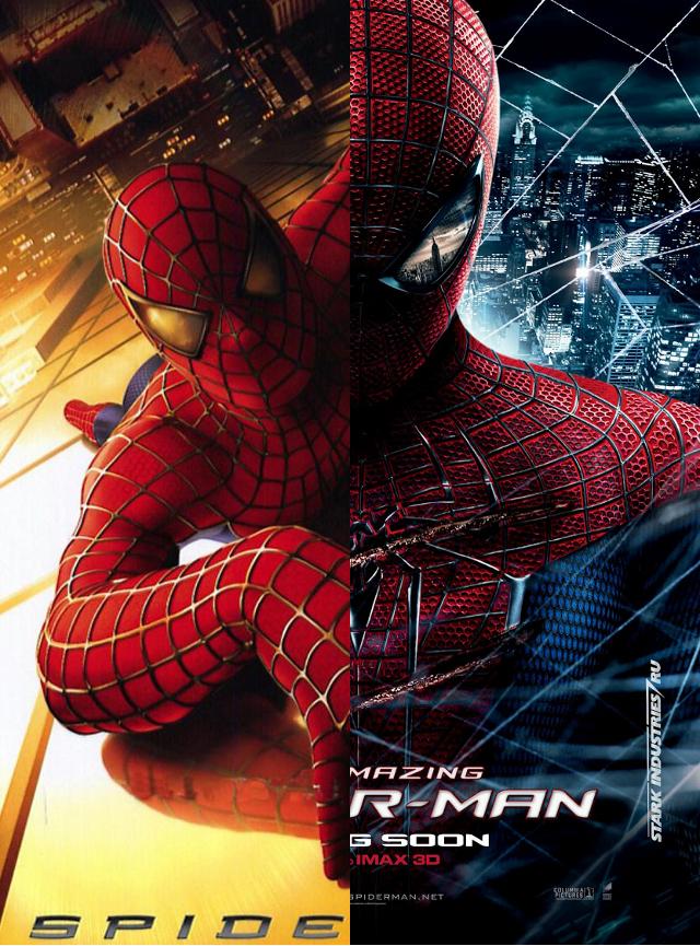 Spider-Man: Raimi v.s. Webb