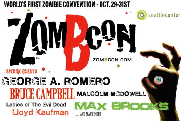 Cartel de la ZombCon 2010