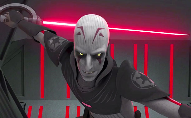 Sat Wars Rebels, The Inquisitor