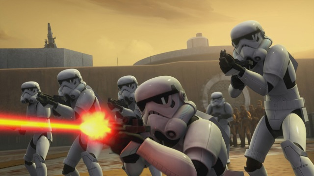 Star Wars Rebels, Stormtroopers