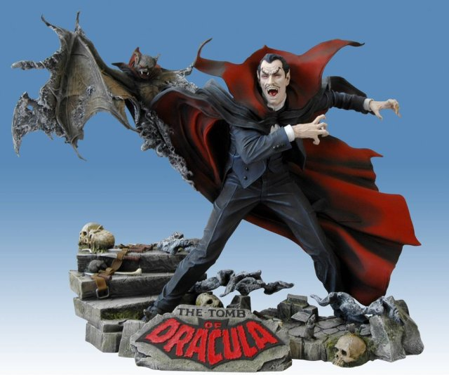 Crying Grumpies - Tomb of Dracula - Review - Estatua