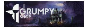 Crying Grumpies - Mansiones de la Locura - Banner - The Grumpy Shop