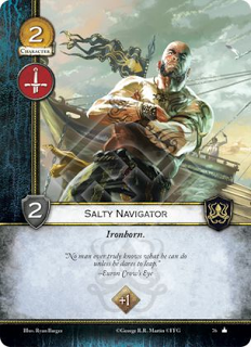 Navegante Salado (arza quillo!) Hijo del hierro +1 iniciativa