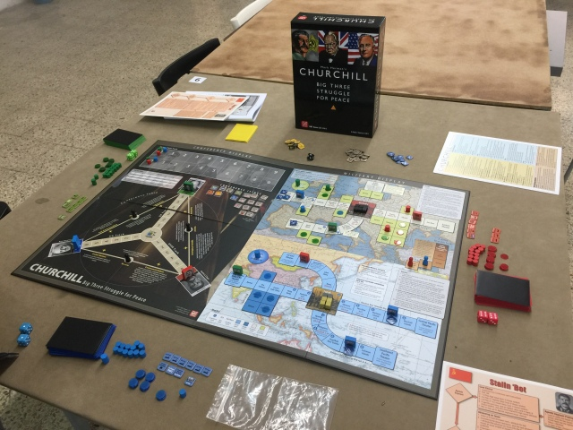 Crying Grumpies - Churchill - Boardgame - WWII Conference - Stalin - Roosvelt - Mark Herman - Big Three Struggle for peace- GMT - 2