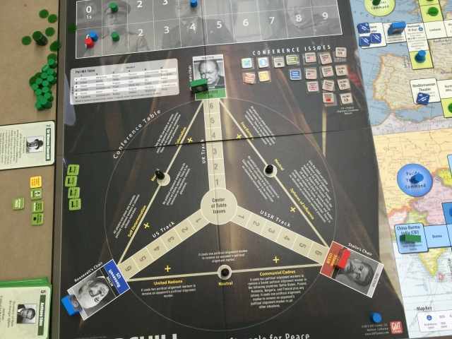 Crying Grumpies - Churchill - Boardgame - WWII Conference - Stalin - Roosvelt - Mark Herman - Big Three Struggle for peace- GMT - 5