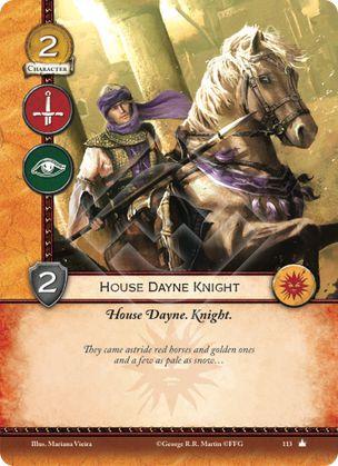 Caballero de la casa Dayne Casa Dayne, Caballero