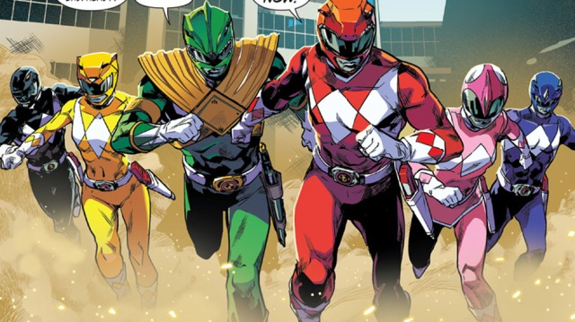 Crying Grumpies - Power Rangers - Boom Studio - Kyle Higgins - Hendry Pasetya