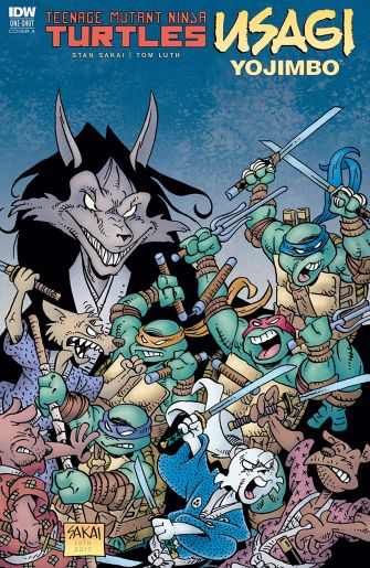 Usagi Yojimbo-Crying Grumpies-1